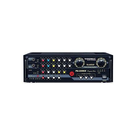 Amply Karaoke NANOMAX PA 2200/128