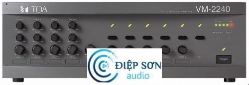 amply mixer chọn 5 vùng loa TOA VM-2240