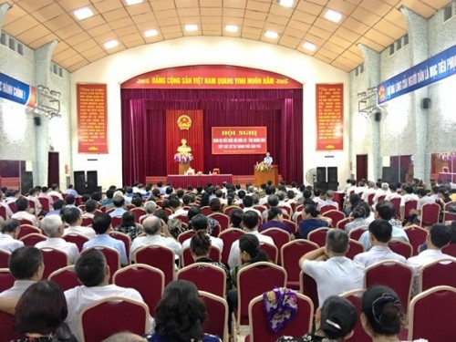 Lắp đặt âm thanh hội trường tại xã Cam Tân