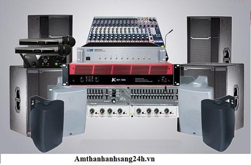 Dàn thiết bị âm thanh hội trường công suất lớn