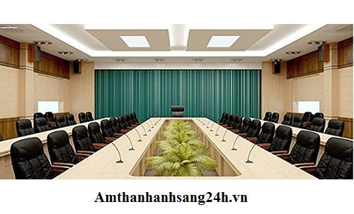 Dàn âm thanh hội trường chuyên dụng cho hội họp