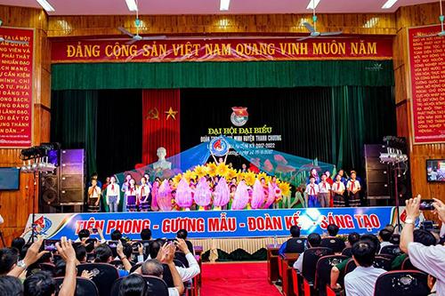 Dự án âm thanh hội trường tại huyện Thanh Chương