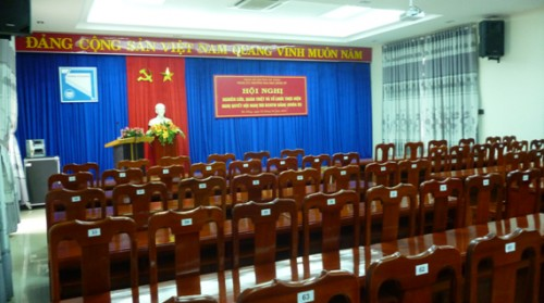 Dự án âm thanh hội trường cho trường Kinh Tế