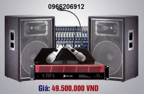 Dàn âm  thanh  hội trường nhập khẩu chính hãng  giá 49.5 triệụ