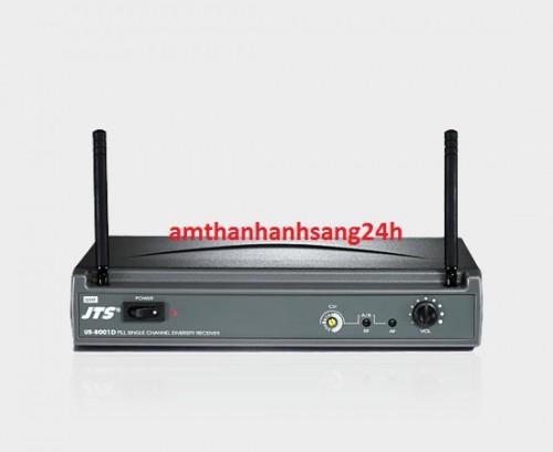 Bộ thu không dây tần số UHF JTS US-8001D