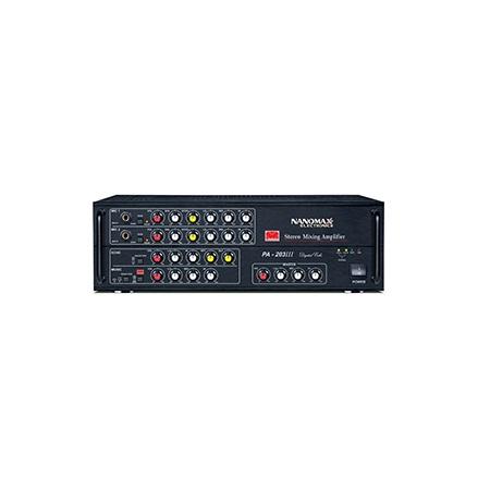Amply Karaoke NANOMAX PA 203III