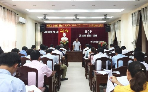 Lắp đặt dàn âm thanh hội trường tại Phú Lộc