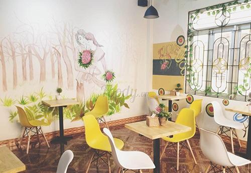 Dự án âm thanh quán cafe cho tra sua Toco Toco