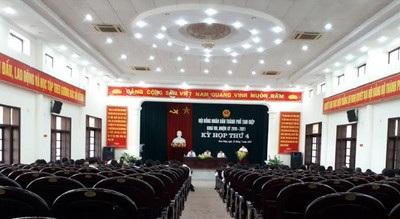 Dự án dàn âm thanh hội trường tại xã Yên Sơn